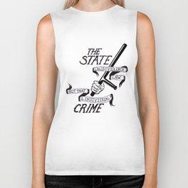 State Crime Biker Tank