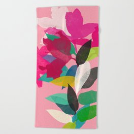lily 18 Beach Towel