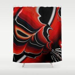 Dynamic Fractal Shower Curtain