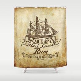 Dread Pirate Rum Shower Curtain