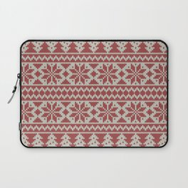 Traditional Christmas Pattern Laptop Sleeve