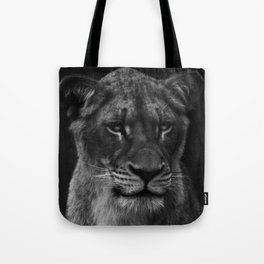 Her Majesty the Lioness Tote Bag