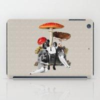 eugenia loli iPad Cases featuring Upper Class Dealer by Eugenia Loli