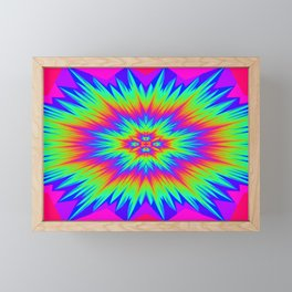 Rainbow Burst Framed Mini Art Print