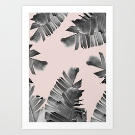 Circle of palm Art Print