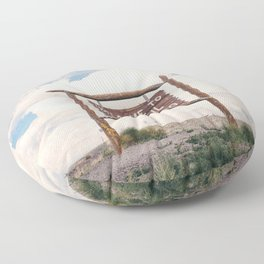 Welcome to Colorful Colorado Floor Pillow