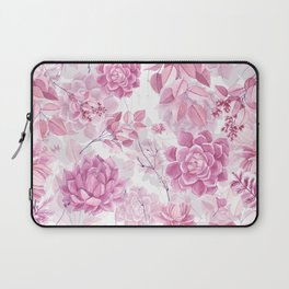 PINK SUCCULENTS #society6 Laptop Sleeve
