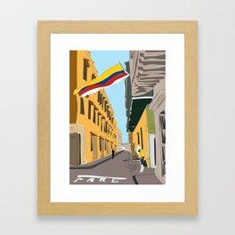 Cartagena de Indias, Colombia Framed Art Print