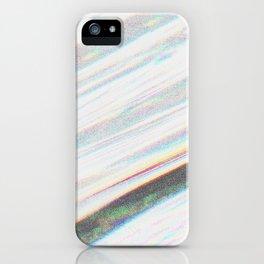 White Noise iPhone Case