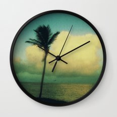 sunset solo Wall Clock