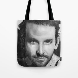 Bradley Cooper Traditional Portrait Print Tote Bag