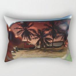 bora bora sunglasses Rectangular Pillow