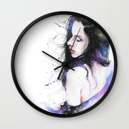 A second of eternity Wall Clock