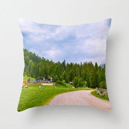 Seefeld in Tirol, Austria Throw Pillow
