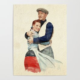 The Quiet Man - Watercolor Poster
