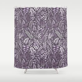 Lavender (Essential Oil Collection) Shower Curtain