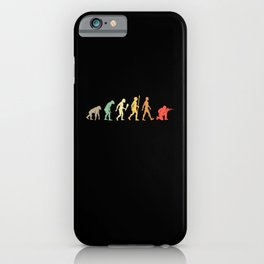 Vintage Paintball Evolution Gift iPhone Case