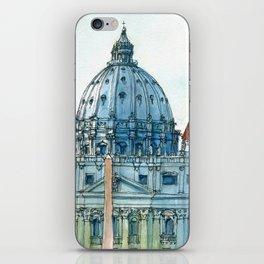 Scorcio di S. Pietro iPhone Skin