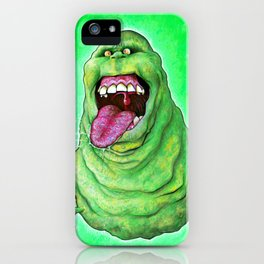 Slimer (Ghostbusters) iPhone Case