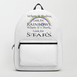 When it Rains... Backpack
