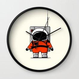 Moon Man Wall Clock