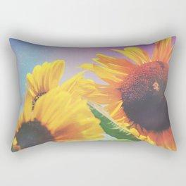 Summer Sunshine Day Rectangular Pillow