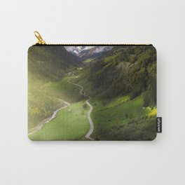 Winding road Switzerland Carry-All Pouch