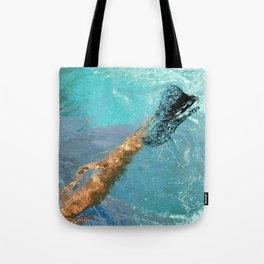 Blue Heel Tote Bag