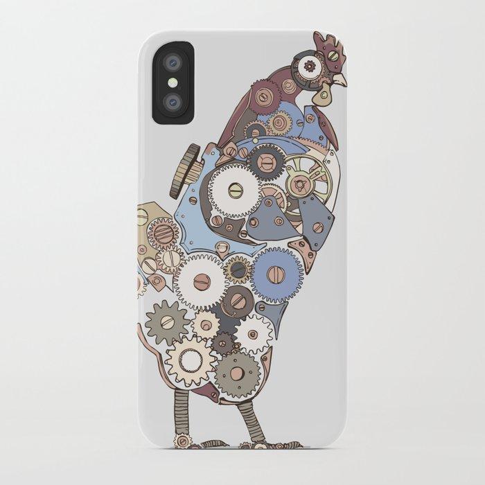 Chicken Alarm iPhone Case