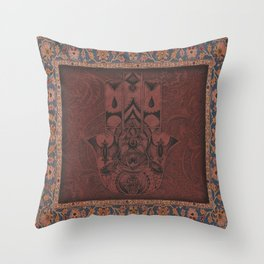 New Century Hamsa Throw Pillow