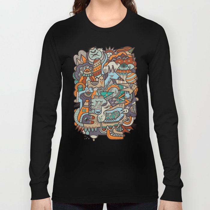 Punky Redux Long Sleeve T-shirt