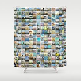 Multi Image Shower Curtain