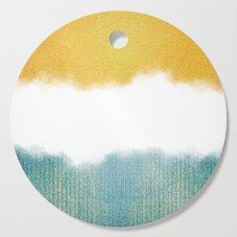 Teahupo'o, sea and sand Cutting Board