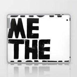 Show me the money Laptop & iPad Skin