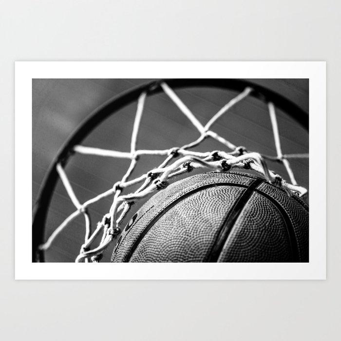 Basketball Kunstdrucke