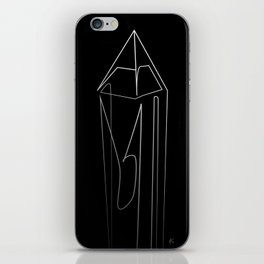 """"""" Abstract Collection """" - Crystal #1 iPhone Skin"""