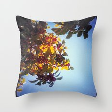 The Red Berry Tree (An Instagram Series) Throw Pillow
