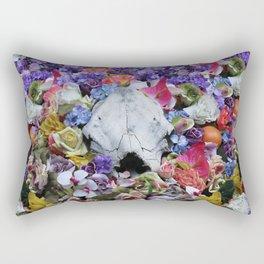 SKULL BLOSSOMS Rectangular Pillow
