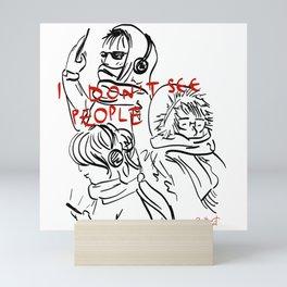 People Mini Art Print
