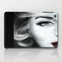 marilyn iPad Cases featuring Marilyn  by Lily Fitch