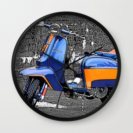 Lambretta Dreams Wall Clock