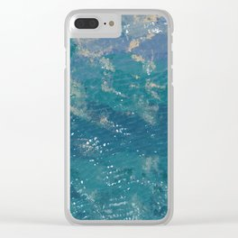 Going to the sea Clear iPhone Case