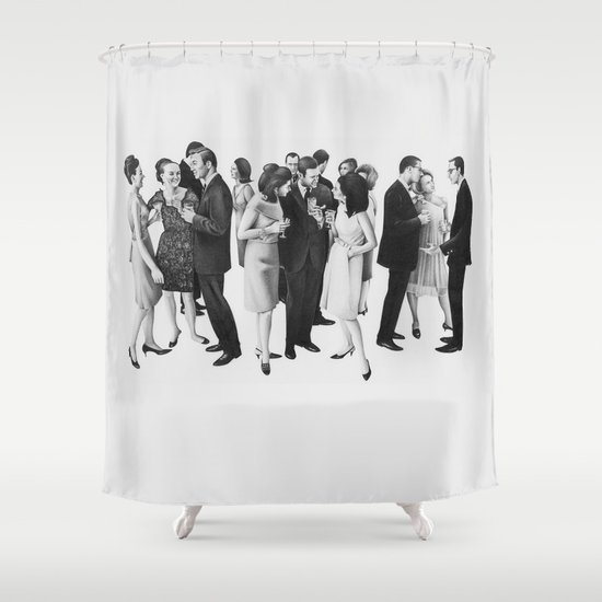 The Cold War Shower Curtain By Doug Smock Society6