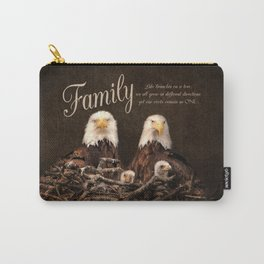 Family is Forever Carry-All Pouch