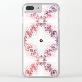 Vintage Filligree 1 Clear iPhone Case