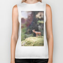 Temporary Happiness part 1 deer Biker Tank
