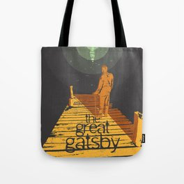 BOOKS Collection: The Great Gatsby Tote Bag