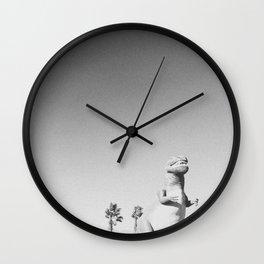 RAWR / Cabazon Dinosaurs, CA Wall Clock