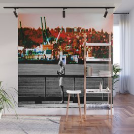 Living in the Gray World Wall Mural