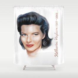 Katharine Hepburn Shower Curtain